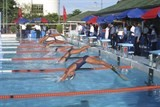 hcm city leads in finswimming competition