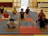 first intl yoga day to be celebrated in hanoi