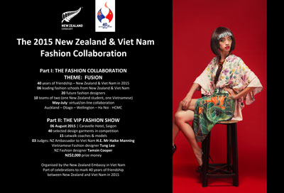 The first ever NZ-Viet Nam fashion collaboration has commenced