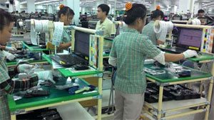 Mobile phone industry leads export growth