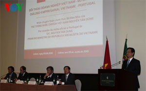 Portugal, Vietnam hold business dialogue