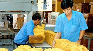 Vietnam's rubber exports rise in volume