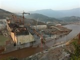 lai chau hydropower plant stores water