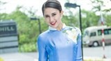 local designer unveils renovated ao dai collection