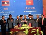 vietnam laos ink border trade agreement