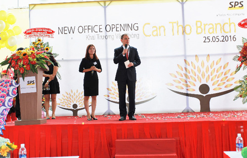SPS Vietnam Can Tho Branch moves to new office