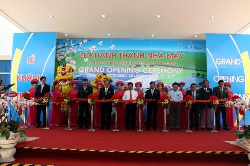 Japanese electronic manufacturing plant inaugurated in Quang Ngai