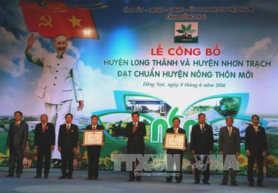 Dong Nai province leads in rural area building program