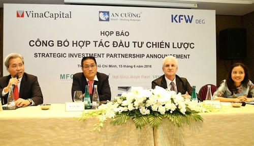 VOF-DEG venture to invest US$30 million in An Cuong Wood Company