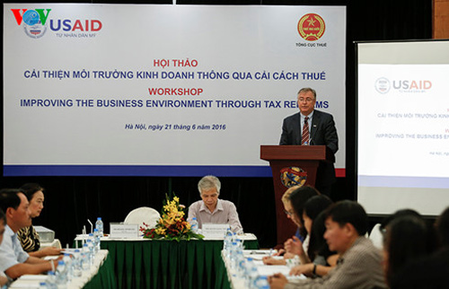 Workshop: Improving the Business Environment through Tax Reforms