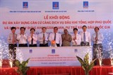 petrovietnam launches two key projects on phu quoc