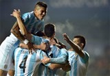 argentina book final spot against chile