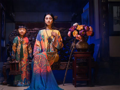 Vietnamese Ao Dai featured in Japan