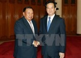 vietnam laos seek to strengthen bilateral ties