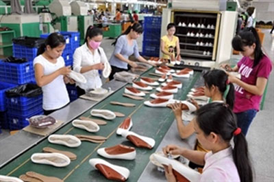 Vietnam climbs footwear ladder