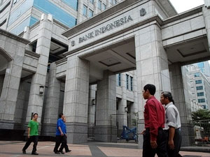 Indonesia's foreign exchange reserves shrink