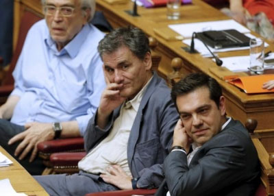 Greek parliament approves bailout measures