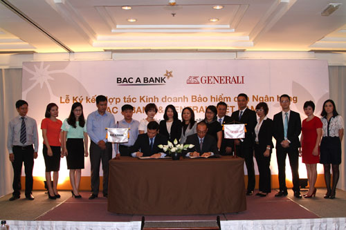 Generali Vietnam signs agreement with Bac A Bank