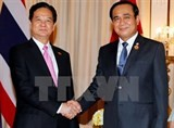 vietnam thailand cooperation thriving across the board pms