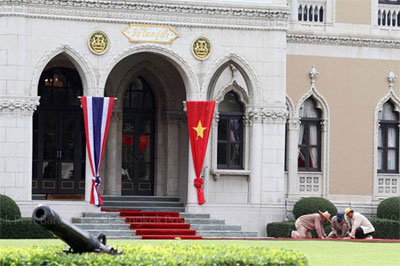 Vietnam, Thailand target 20 billion USD in trade