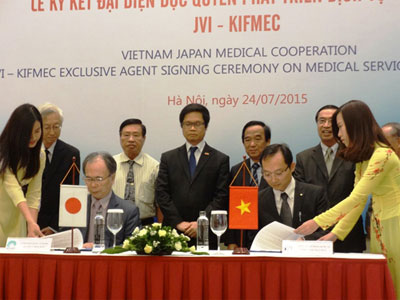 Vietnam, Japan sign cooperation agreement on healthcare