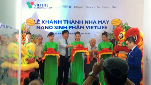 Vietnam's first biological nano-product manufacturing line put into operation