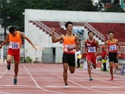 hanoi wins track and field event for youth