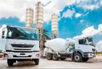 the fuso brand introduces new concrete mixer truck