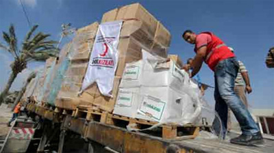 Gaza receives first Turkish aid shipment after Israel-Turkey deal