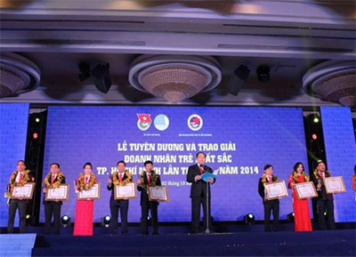 Ho Chi Minh City launches Outstanding Entrepreneurs Awards
