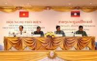 agreements facilitate vietnam laos trade