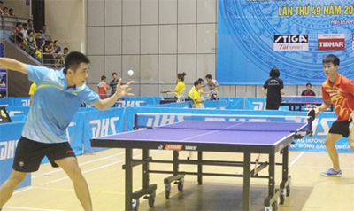 VN to take part in Southeast Asian junior table tennis event