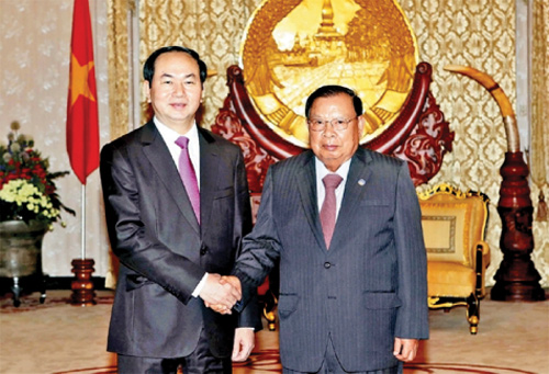 Deepening friendship between Cambodia, Laos, Vietnam