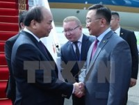 prime minister arrives in ulan bator begins official visit