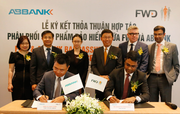 ABBANK signs distribution agreement with FWD in Vietnam