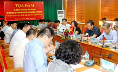 Chinese firms seek investment in Ha Giang province