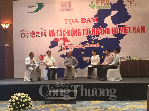 Industry insiders talk Brexit's effects on Vietnamese wood sector