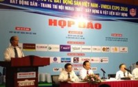 real estate expo takes place in hanoi