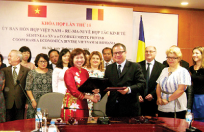 golden period for vietnam rumania economic ties