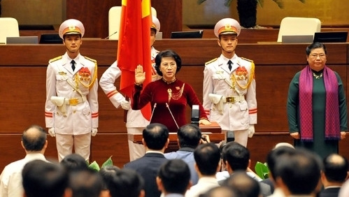 Nguyen Thi Kim Ngan re-elected as National Assembly chair