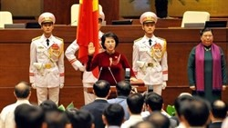 nguyen thi kim ngan re elected as national assembly chair