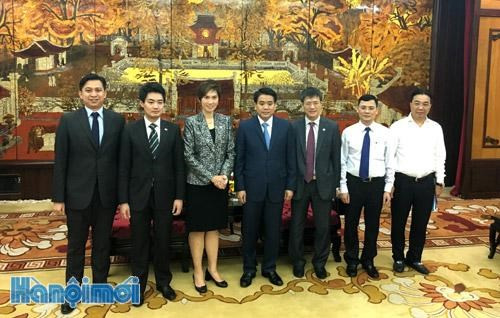 Hanoi interested in tree landscaping designs with Singapore
