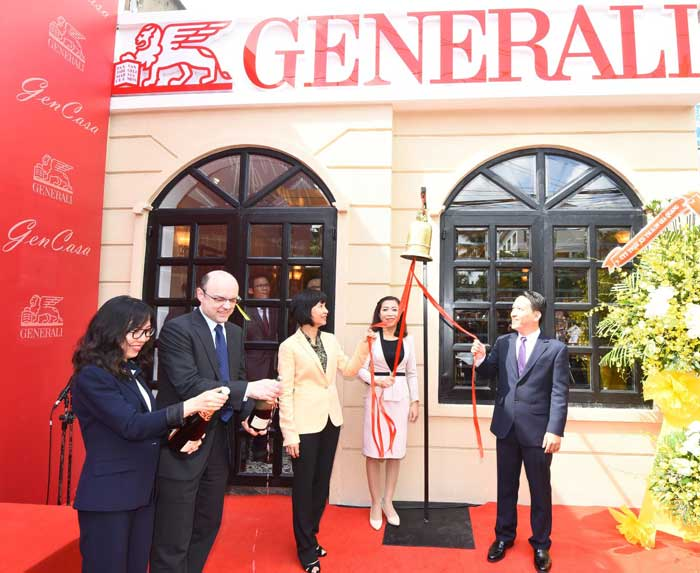 "Generali Vietnam launched the first General Agency office called ""GenCasa"""