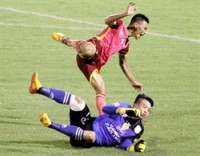can tho goalkeeper banned fined due to serious foul
