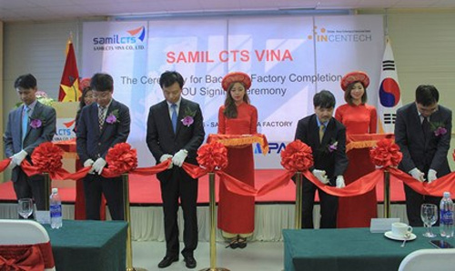 RoK's firm opens plant, research center in Bac Ninh