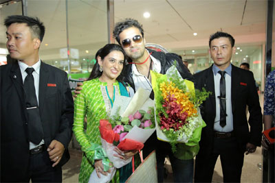 Indian movie stars welcomed in HCM City