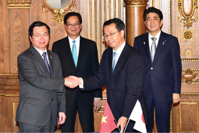 Major changes in Japanese-Vietnamese cooperation