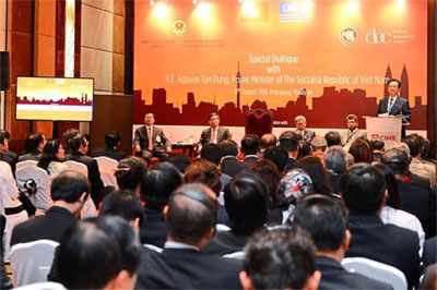 Vietnam sees higher trade volume with Malaysia
