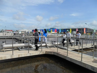 Mekong Delta's largest waste water facility opens