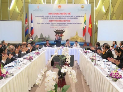 Vietnam, Asean neighbors share budget overseeing experience